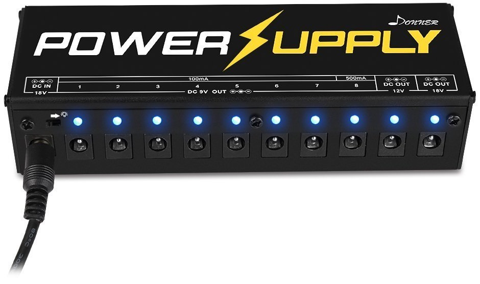 pedal power supplies the gear page. Black Bedroom Furniture Sets. Home Design Ideas