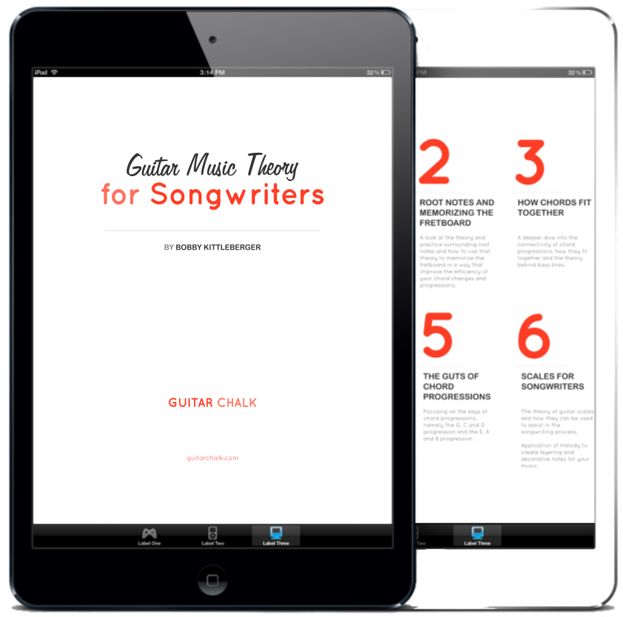 Music Theory for Songwriters Book Cover Graphic