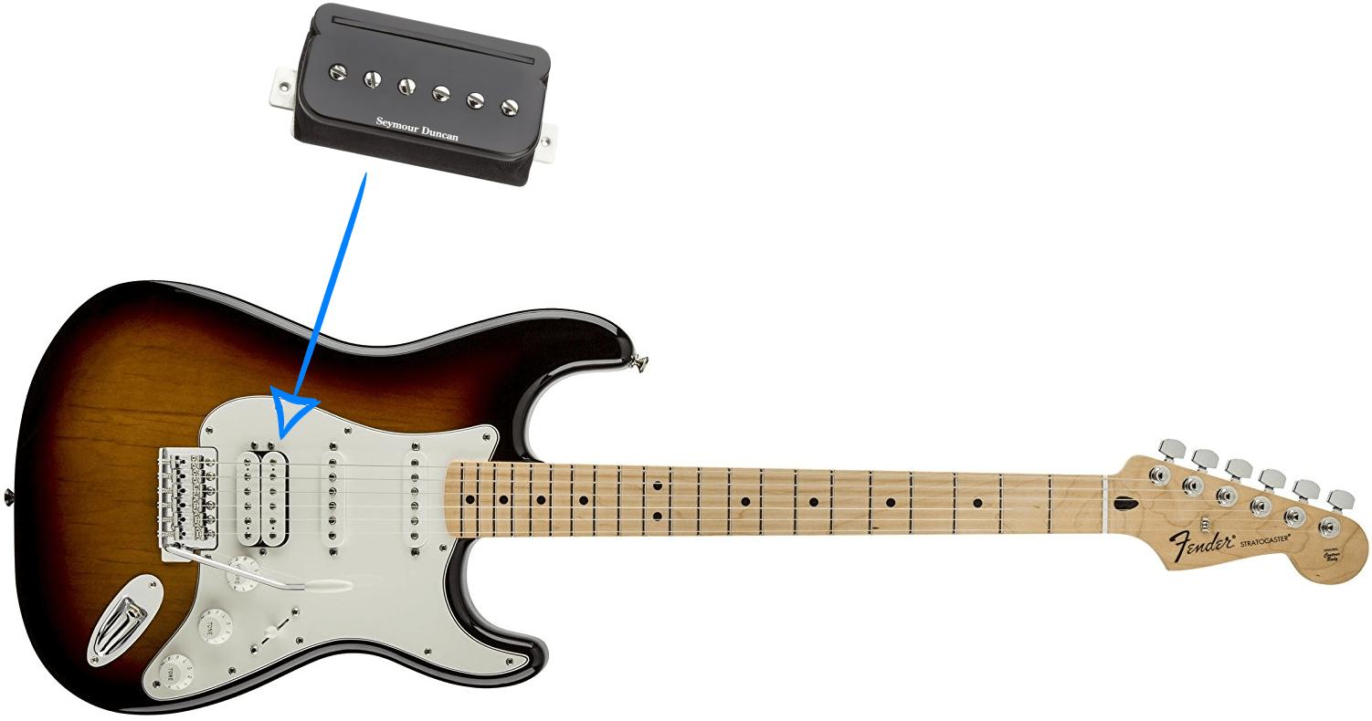 Build Guide for Making a Fender HSS Standard Stratocaster