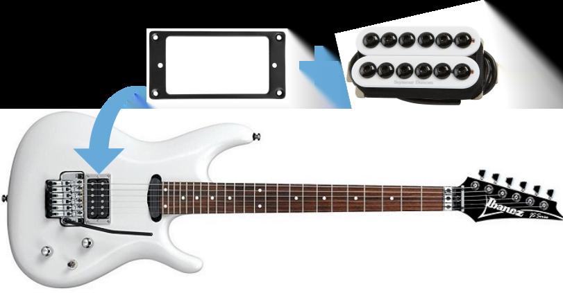 Guitar Pickup Height Ibanez : budget joe satriani electric guitar upgrade and build guide guitar chalk ~ Vivirlamusica.com Haus und Dekorationen