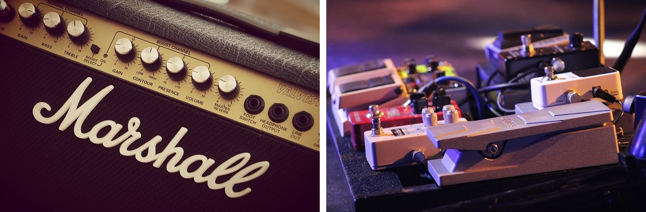 Amp or pedal-based distortion