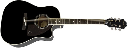 Epiphone AJ-22SCE Solid Top Acoustic Guitar
