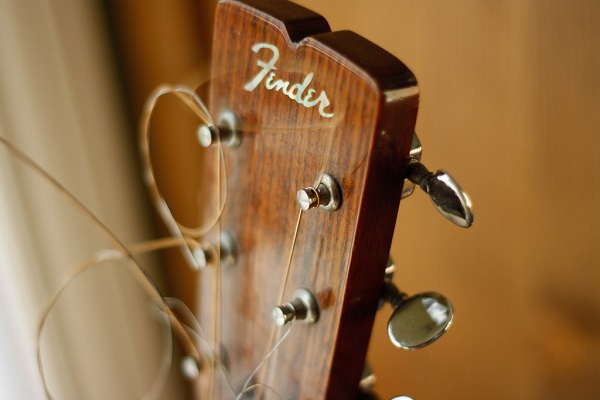 Fender Headstock Banner Photo