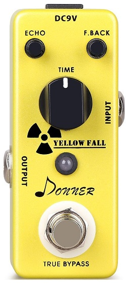 Donner Yellow Fall Analog Delay Pedal