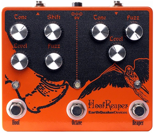 EarthQuaker Devices Hoof Reaper Octave Dual Fuzz