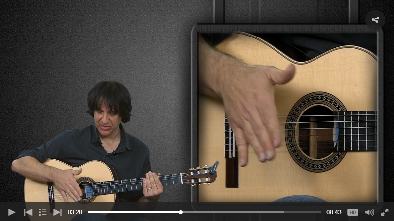 Flamenco Guitar Lesson Example from JamPlay