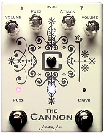 Function f(x) Cannon Dual Fuzz Pedal
