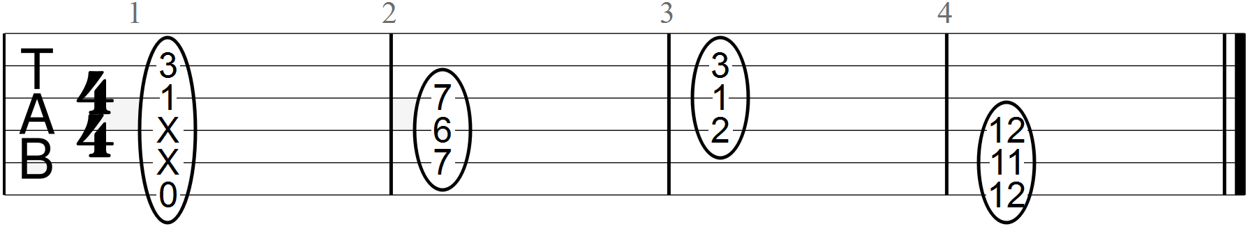E7 Triadic Chords with Minor Seventh Interval and Major Third