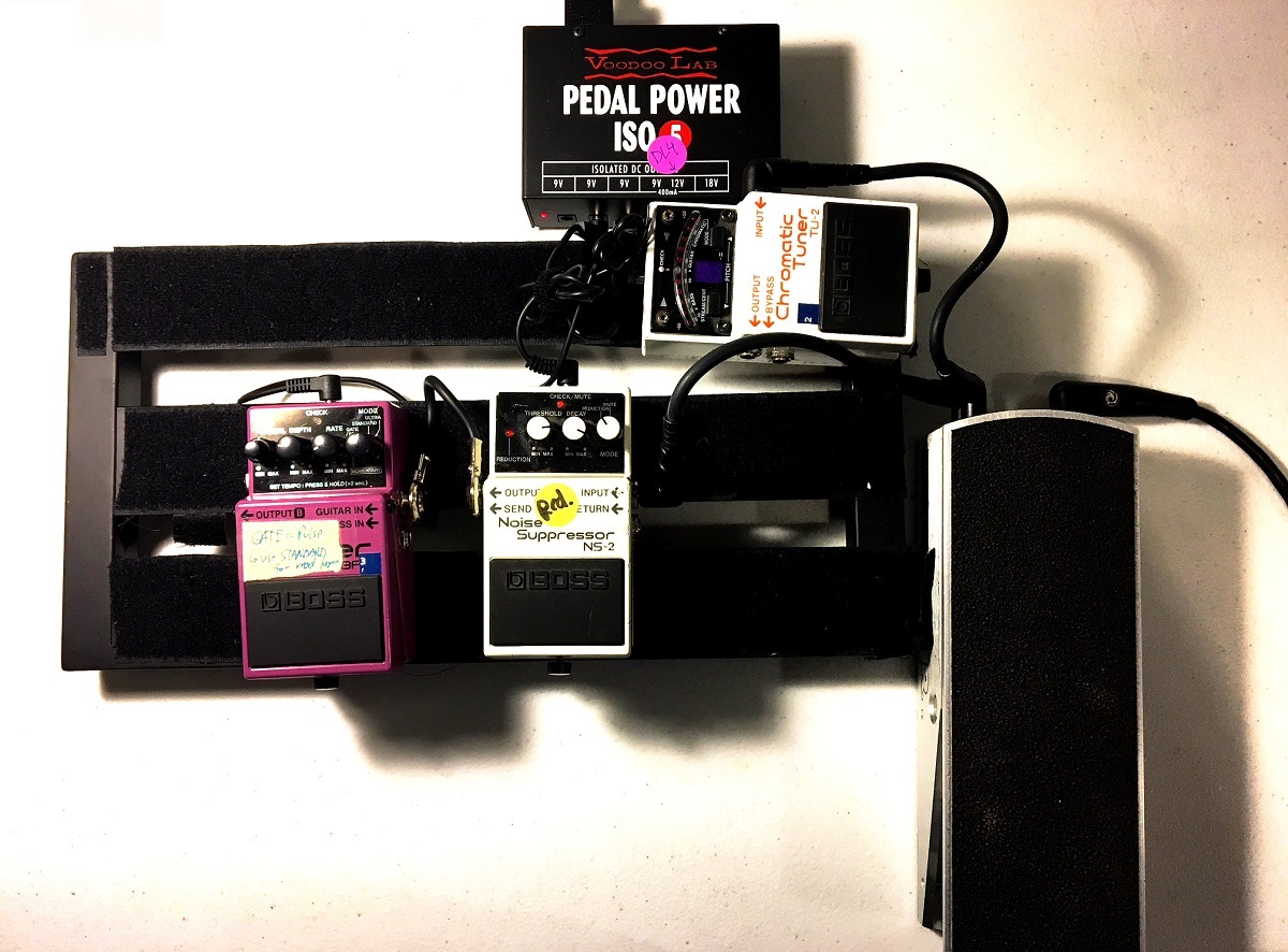 Best Volume Pedals Roundup For Guitar Players Chalk Pedal Wiring Diagram Ernie Ball With Tuner Hooked Up Tweak