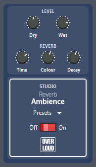 Guitar Pro 7 Ambience Reverb Pedal Preset