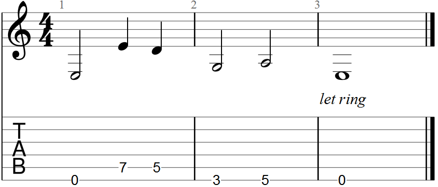 Guitar Pro 7 Low Melody Tab