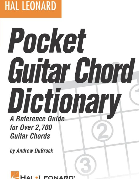 Hal Leonard's Pocket Guitar Chord Dictionary