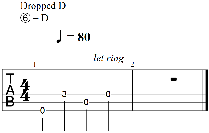 Minor Triad in the Key of D - First Example#1