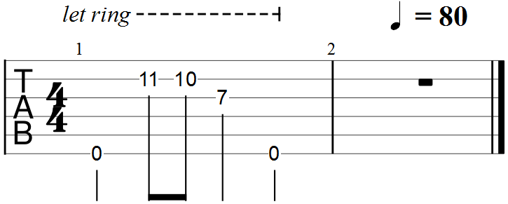 Minor Triad in the Key of D - Second Example#1