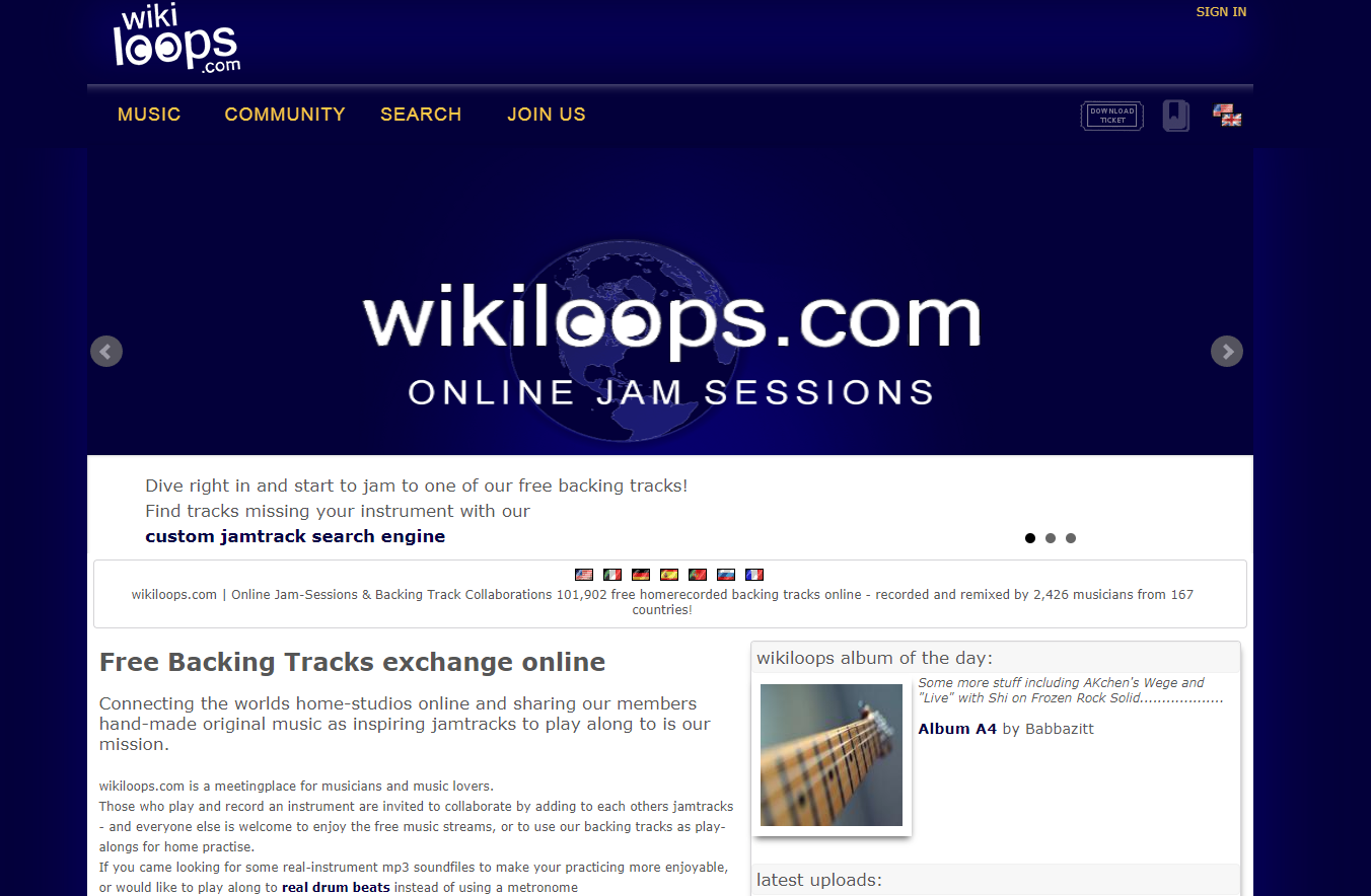 Wikiloops Home Page