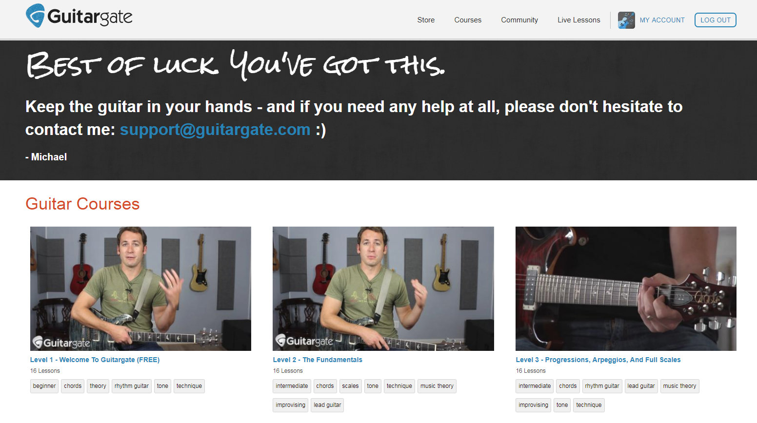GuitarGate Home Page
