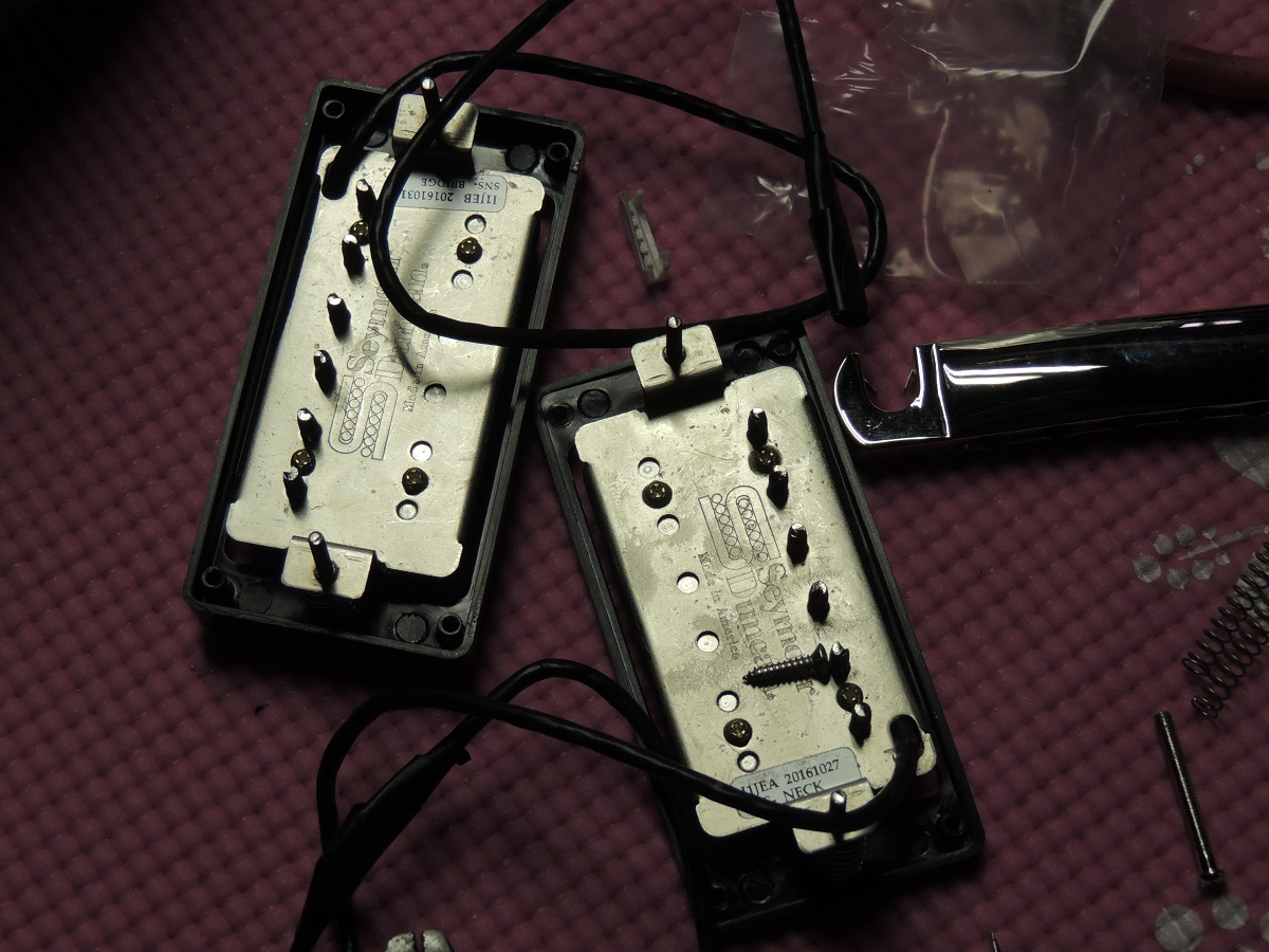 New Seymour Duncan Saturday Night Special Pickups