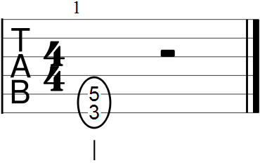 Chord Form of a Perfect Fifth Interval
