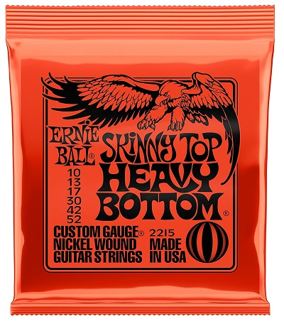 Ernie Ball Skinny Top and Heavy Bottom