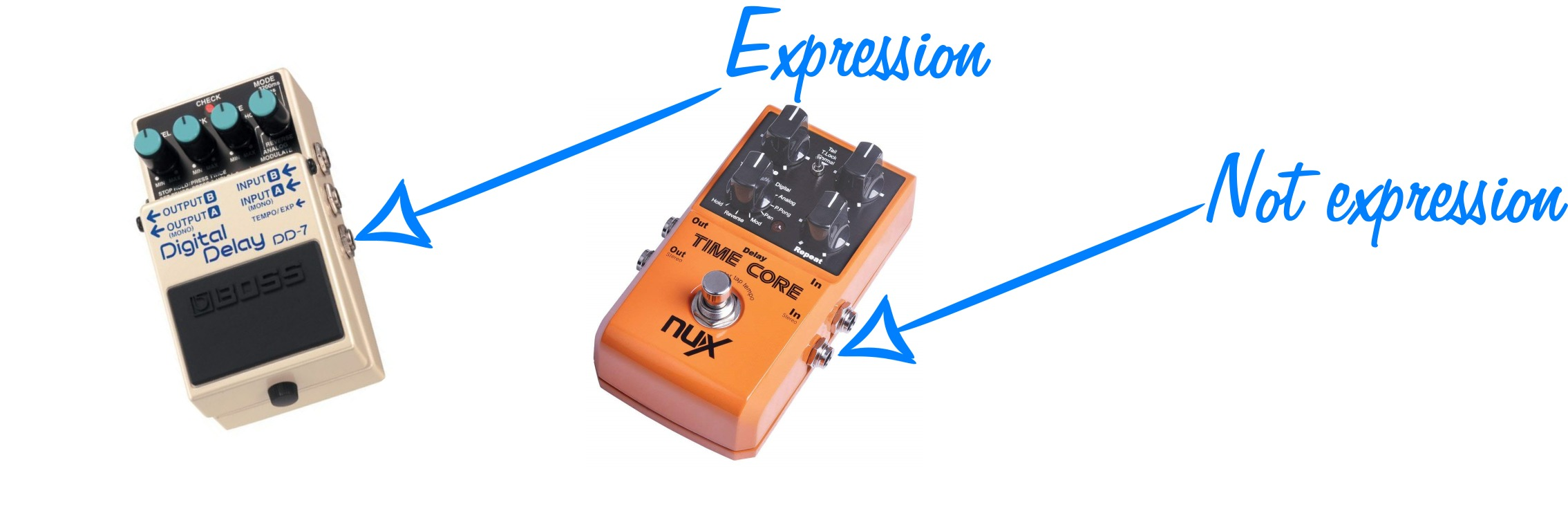 Master List Of 41 Delay Pedals With Expression Guitar Chalk Analog Circuit And Non Jacks In A Pedal