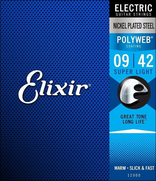 Elixir Electric Strings with POLYWEB Coating Light