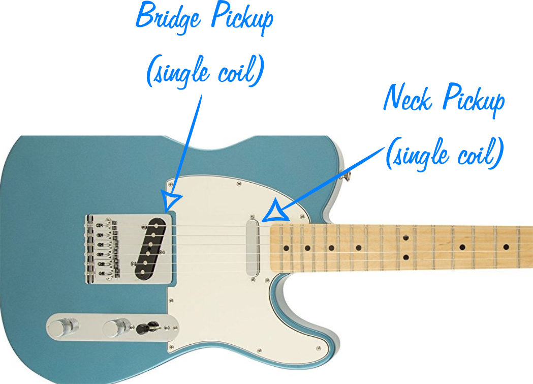9 Best Pickup Configurations For Telecasters Guitar Chalk Humbucker Single Coil Wiring Diagram Telecaster Closeup