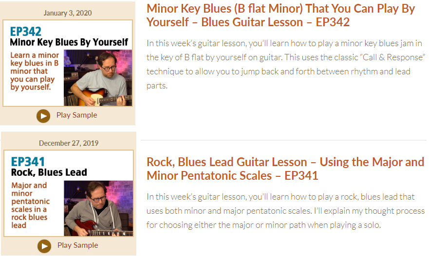Active Melody Lessons