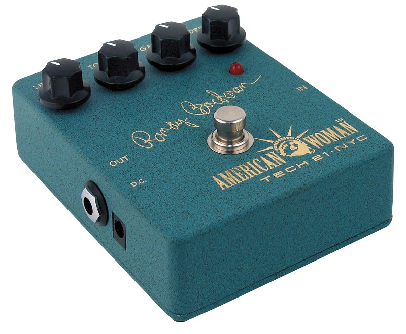 American Woman Distortion Pedal with Noise Gate