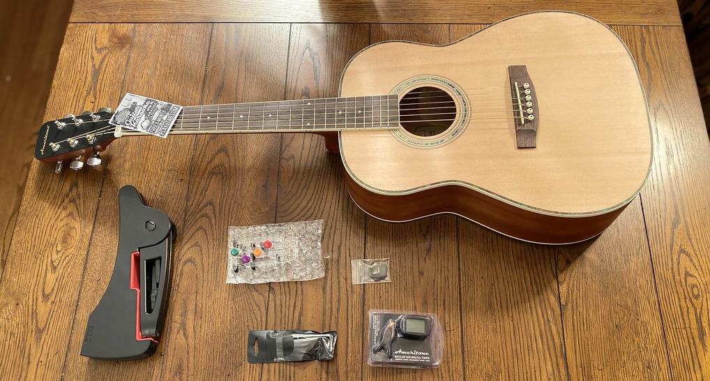Ameritone Acoustic Guitar (3:4 body size)