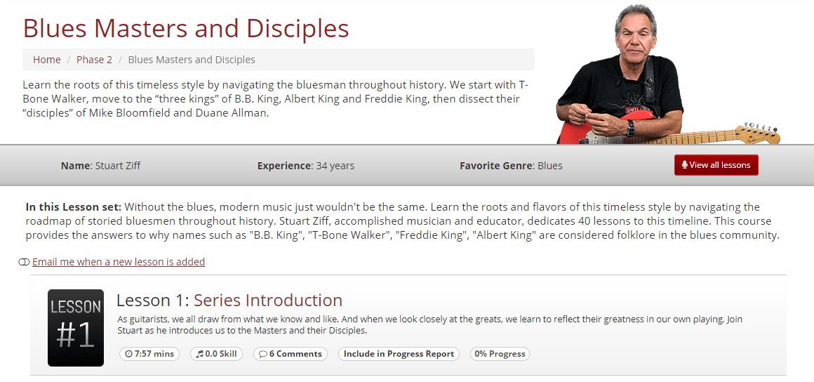 Blues Masters & Disciples