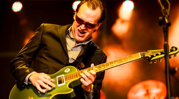 Blues Guitarist Joe Bonamassa