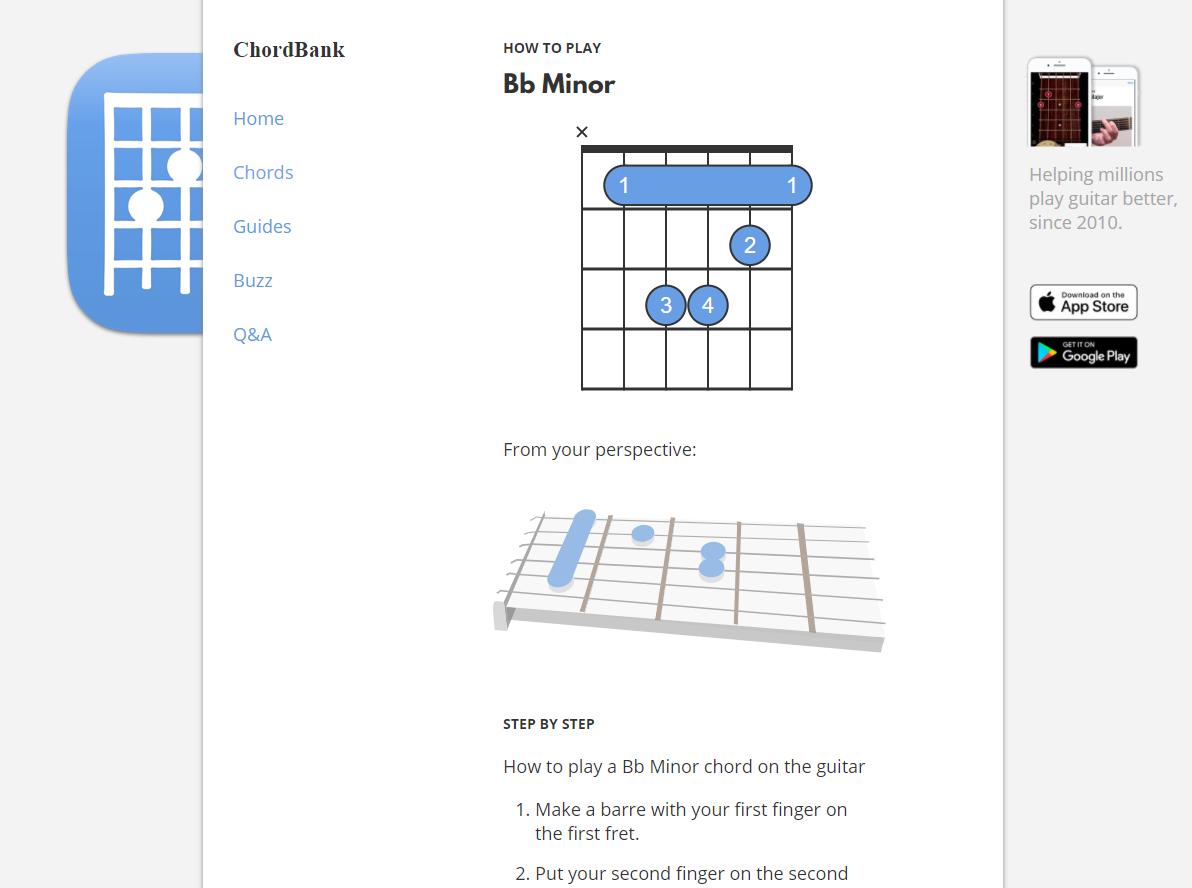 Chordbank Screenshot