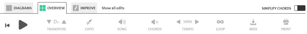 Chordify's Premium Features