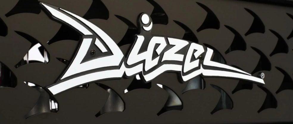 Closeup of the Diezel Logo