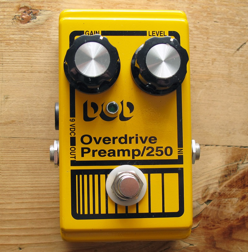 DOD Overdrive and Preamp