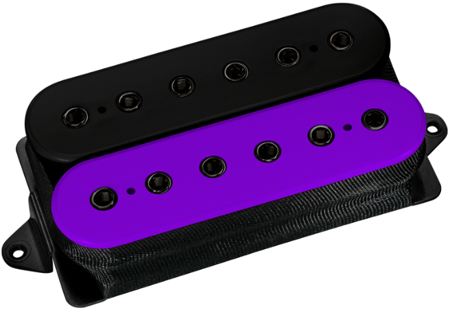 DiMarzio Evolution Heck Humbucker (purple and black version)
