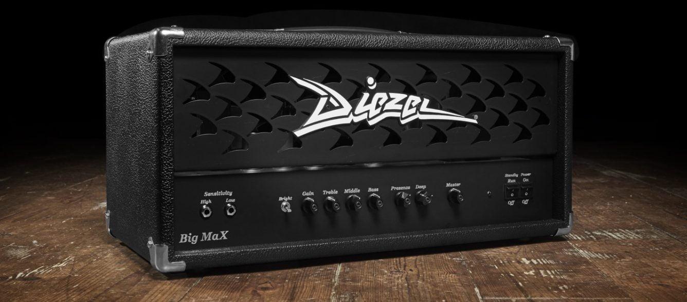 Diezel Big Max Single Channel Amp Head - Best Diezel Amp for Pedals