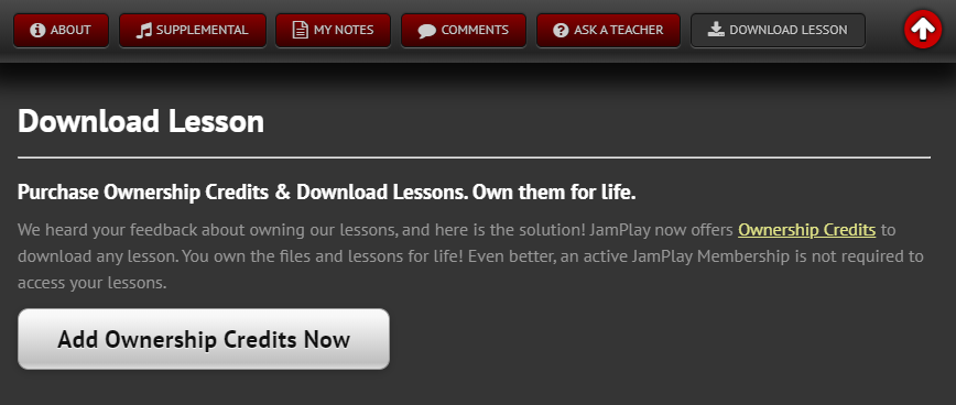 Download Prompt in JamPlay