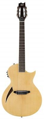 ESP LTD TL-6N Thinline Acoustic with Nylan Strings