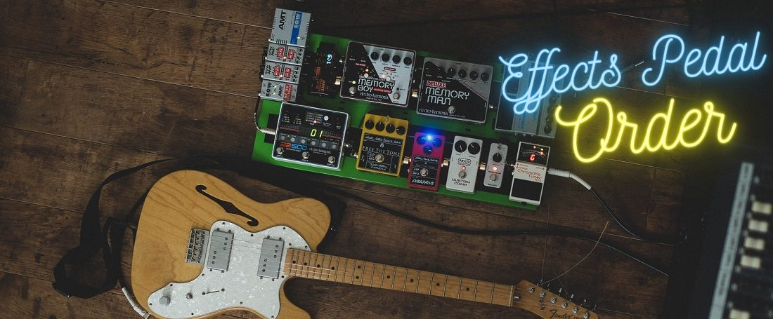 Effects Pedal Order Graphic