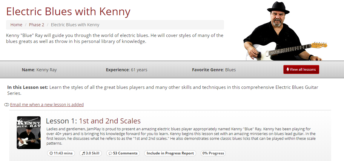 Electric Blues with Kenny