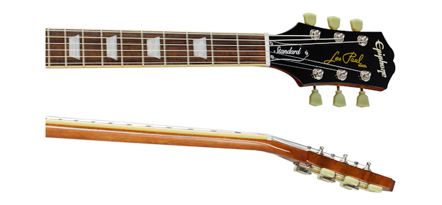 Epiphone Les Paul Neck and Fingerboard Images