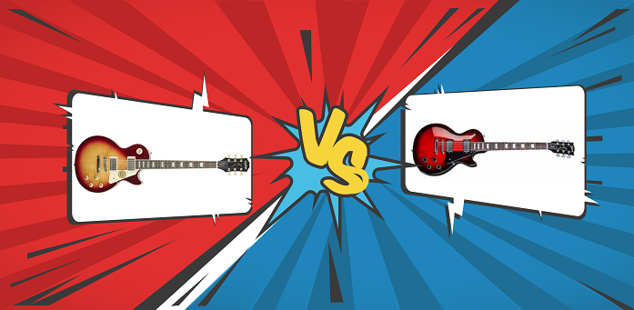Epiphone VS Gibson Les Paul Graphic (banner)