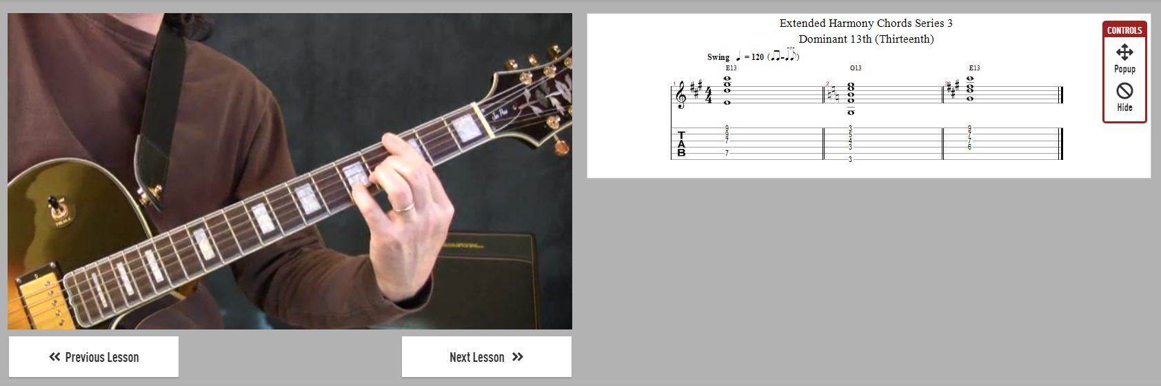 Extended Harmony Chords for Jazz Guitar Lessons