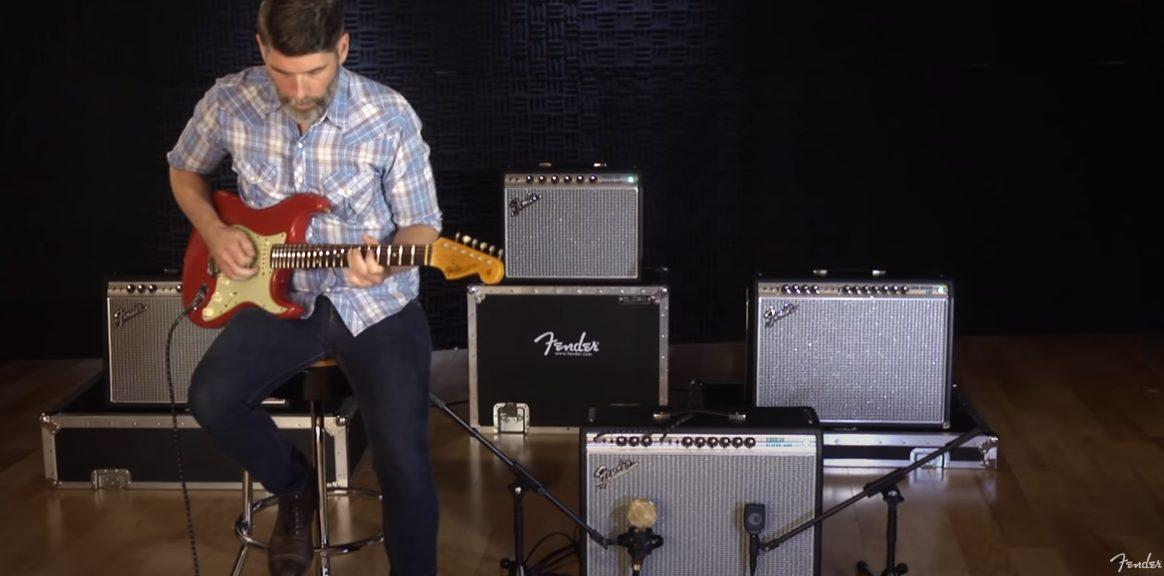 Fender 68 Vibrolux YouTube Demo Screenshot