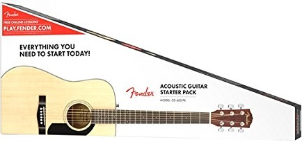 Fender CD-60S Review Page Package Photo