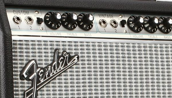 Fender Vibrolux 68 Amp Controls