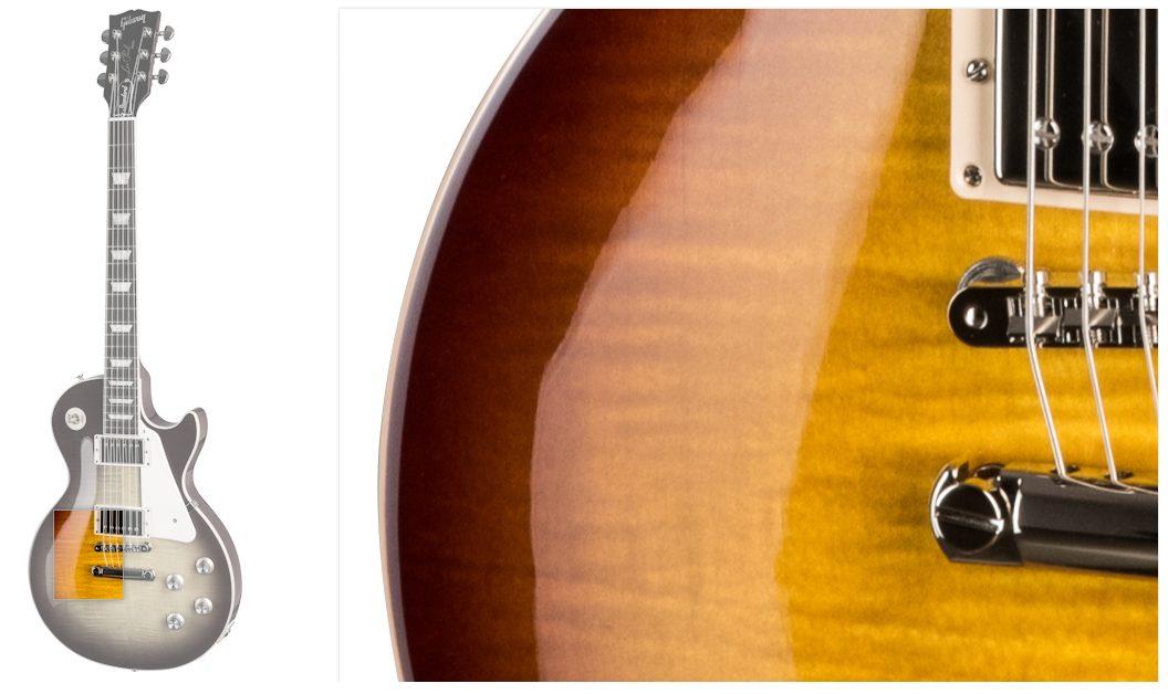 Gibson Les Paul Body Closeup