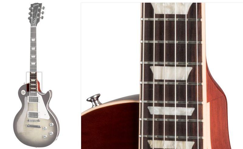 Gibson Les Paul Fingerboard Closeup