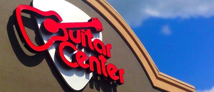 Guitar Center Banner